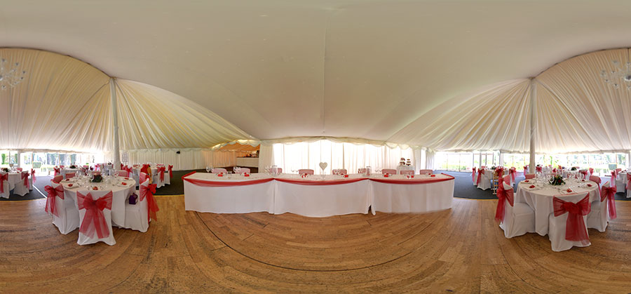 parley manor wedding breakfast