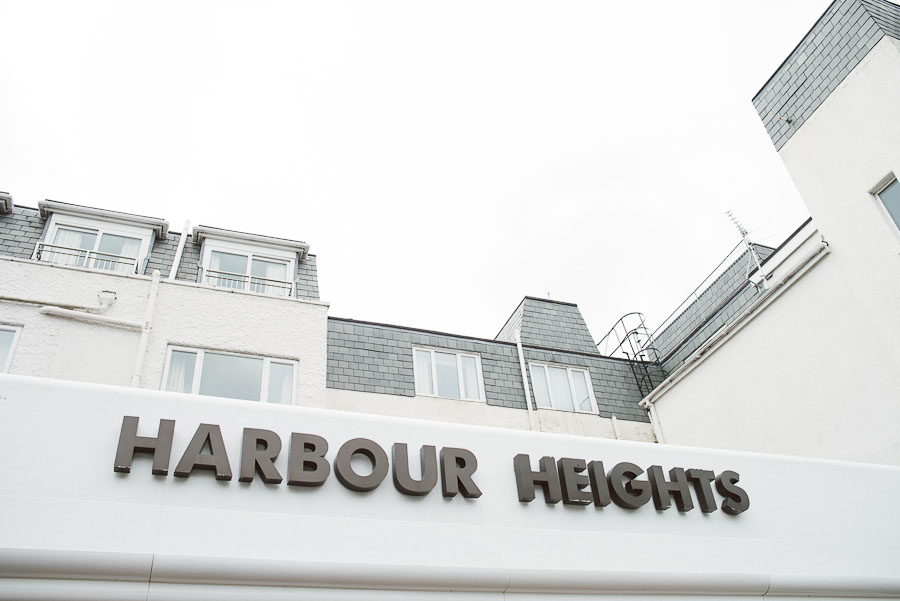 Harbour Heights Hotel Wedding Photographer 1