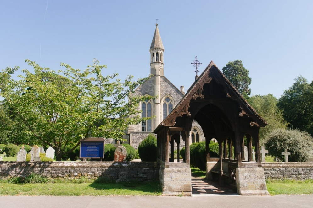 St Marys Church Warsash Hampshire Wedding Photographer 1