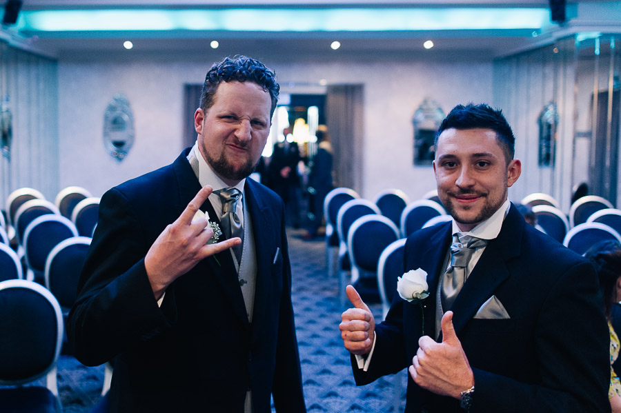 Cumberland Hotel Wedding Photographer groomsmen