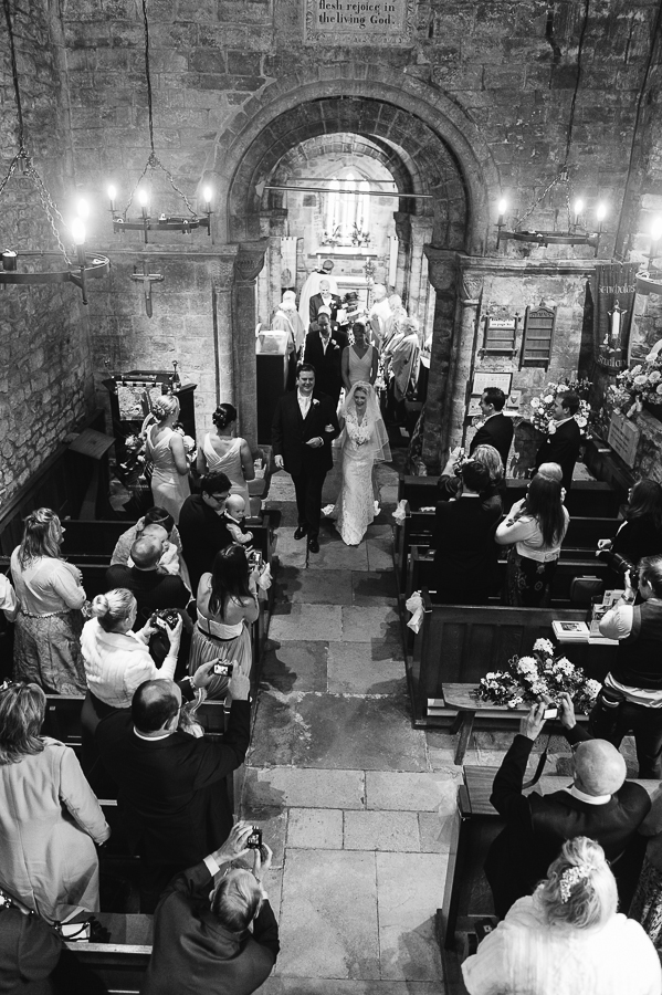 St Nicholas Church Studland Dorset wedding ceremony