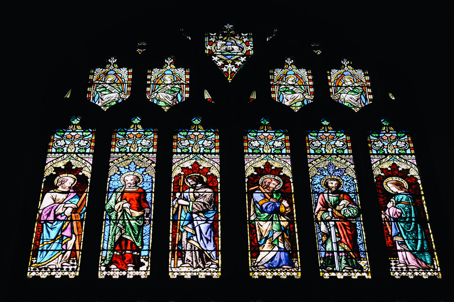 Wimborne Minster Church Dorset Stained Glass