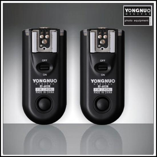 yongnuo flash trigger rf603