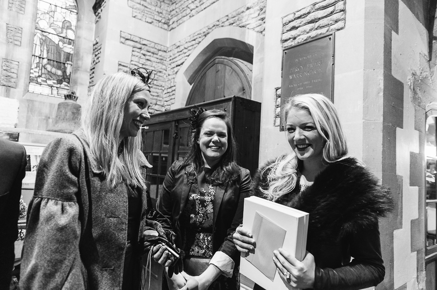St Michaels Church Bath Somerset Wedding Photographer friends