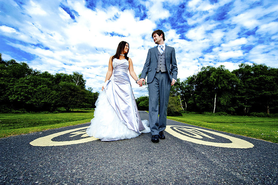 Trash your Wedding Dress with Awesome Dorset Wedding Photography ...
