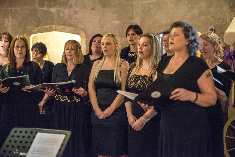 Portland Castle Dorset Wedding Fair Military Wives Singing