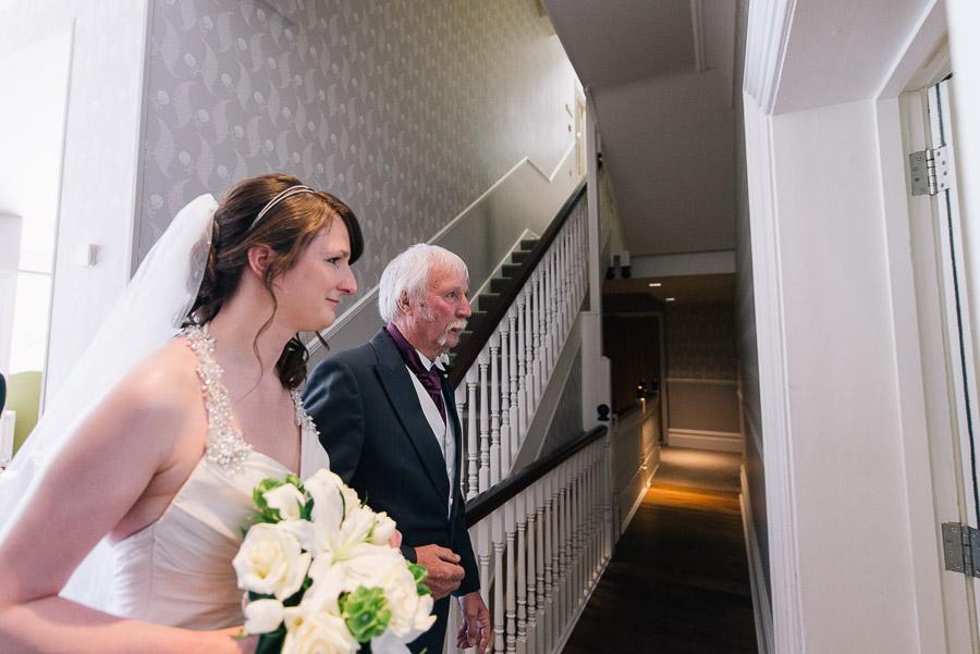 Green House Hotel Bournemouth Wedding Photographer nicole the bride