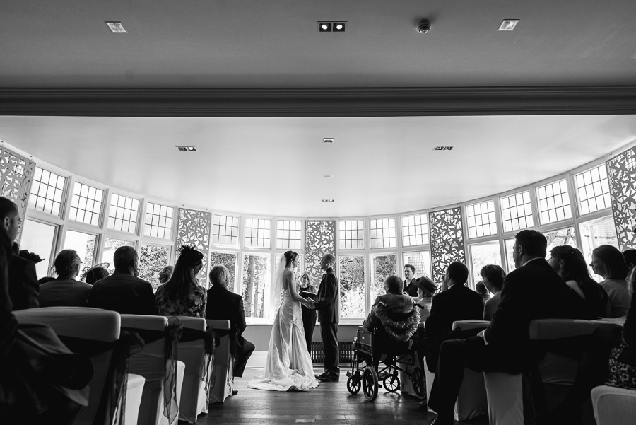 Green House Hotel Bournemouth Wedding Photographer wedding ceremony