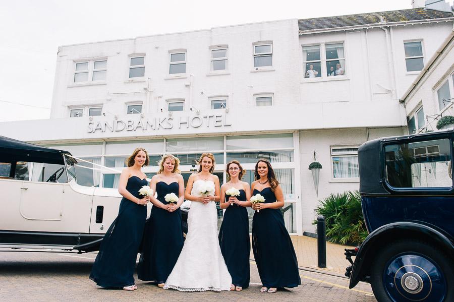 Sandbanks hotel - A Dorset wedding venue