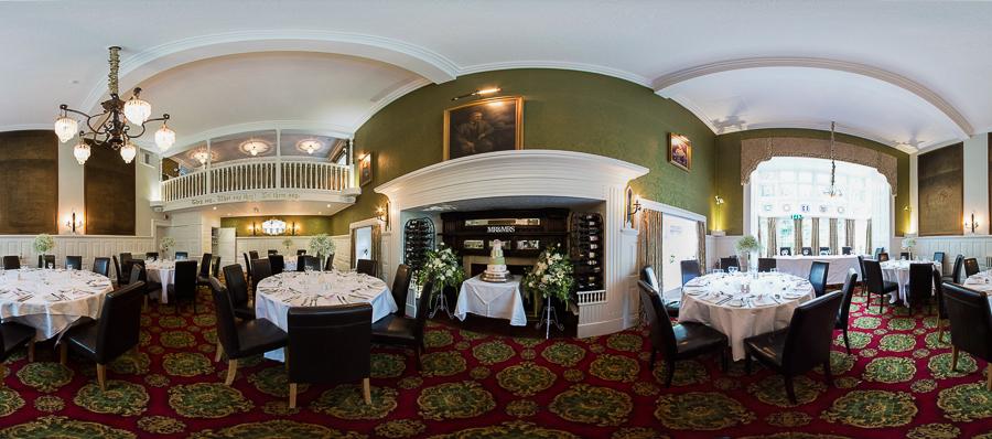 Langtry Manor Wedding Breakfast