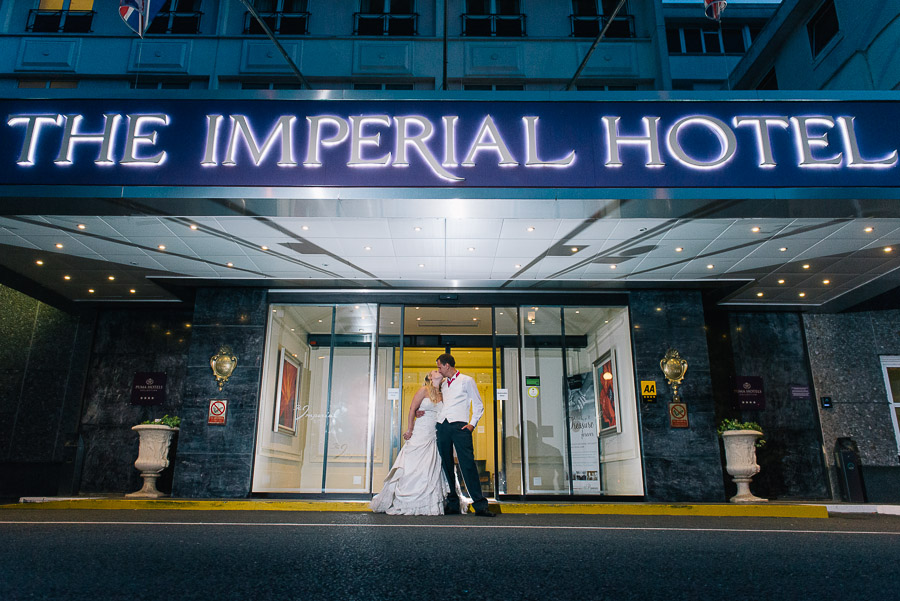 Imperial Hotel Torquay wedding phography