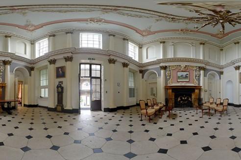 A Rainy Kingston maurward wedding photography reception hall