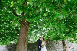 Southampton Registry Office Hampshire Wedding Photography under a green tree