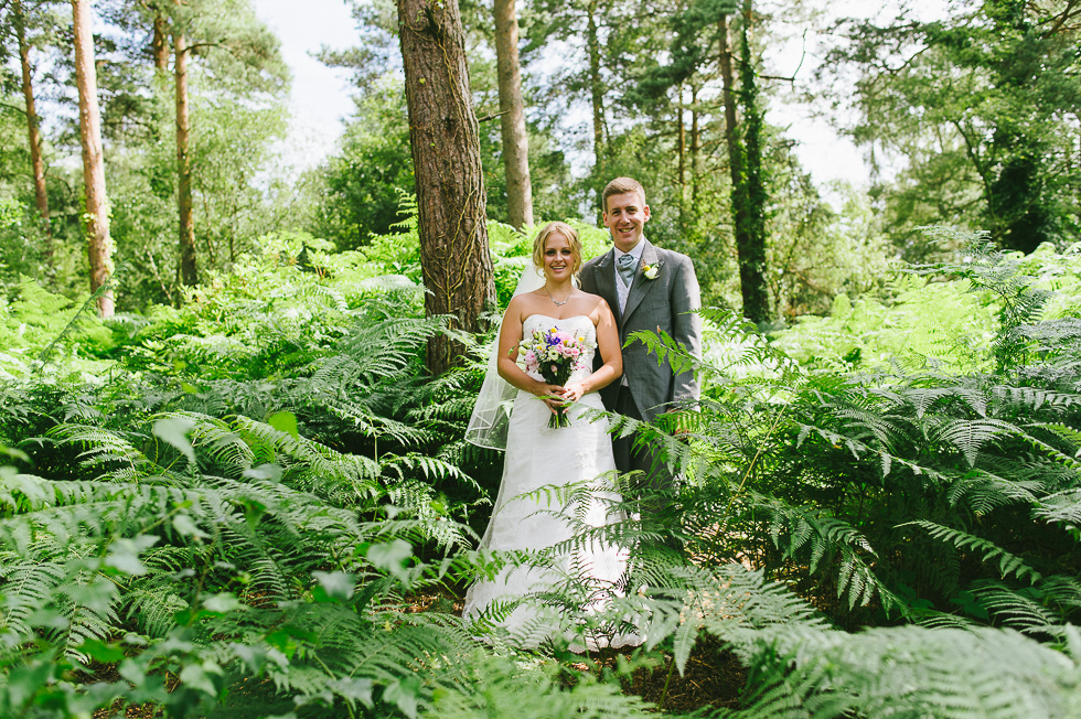 Relaxed garden Wedding weymouth