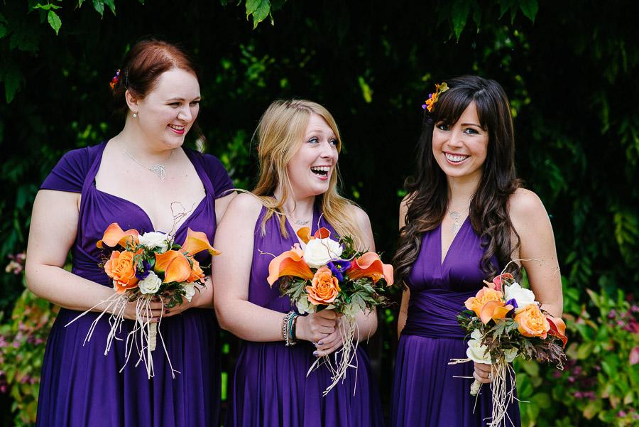 autumnal wedding at orangery wimborne bridesmaids