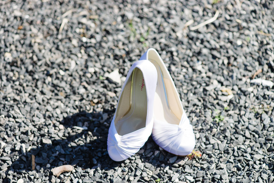 weddings at the Old Vicarage christchurch an new forest - wedding shoes