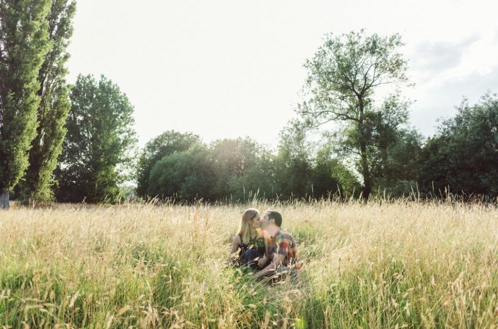 Long Grass with Matt and Hazel
