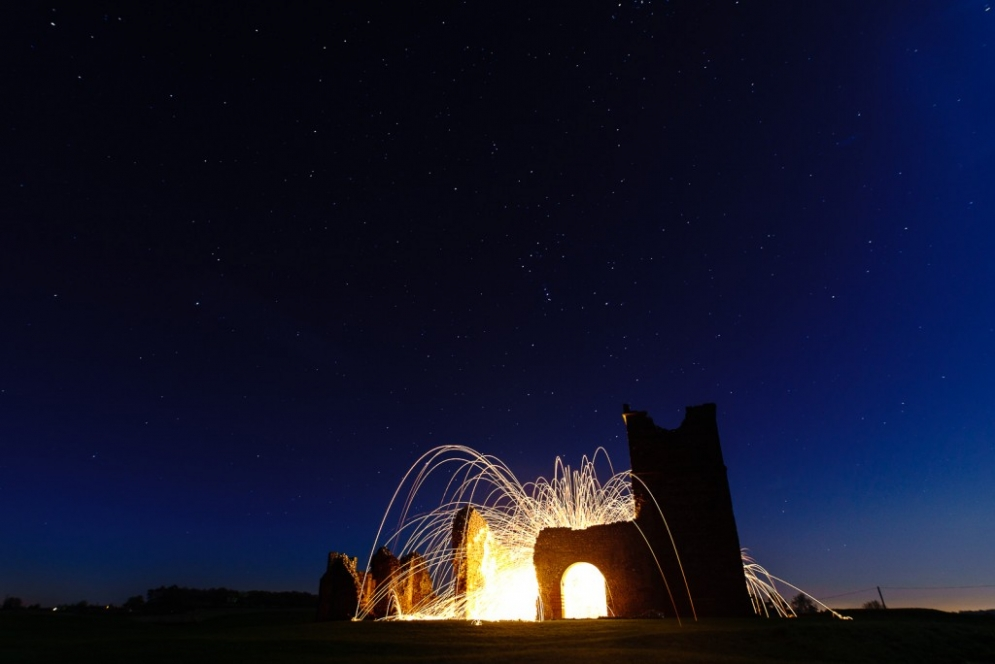 Knowlton Church and Sigma 20mm f/1.4 together