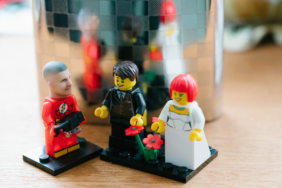 best wedding group shot with lego ever