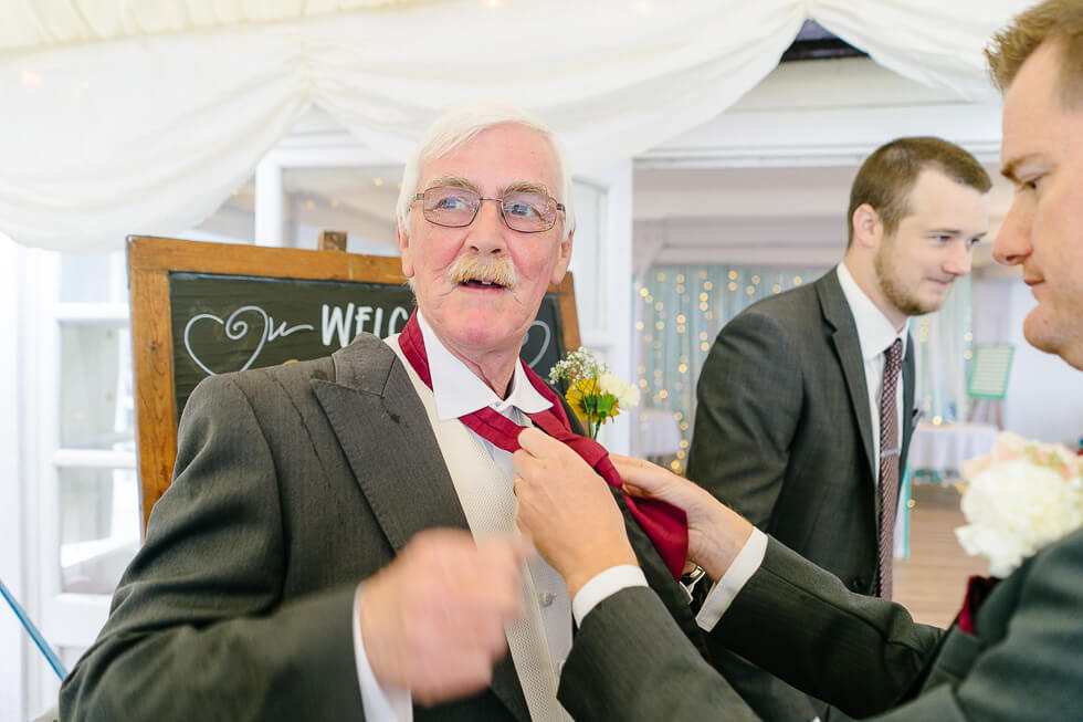 Branksome dene community rooms handfasting ceremony wedding