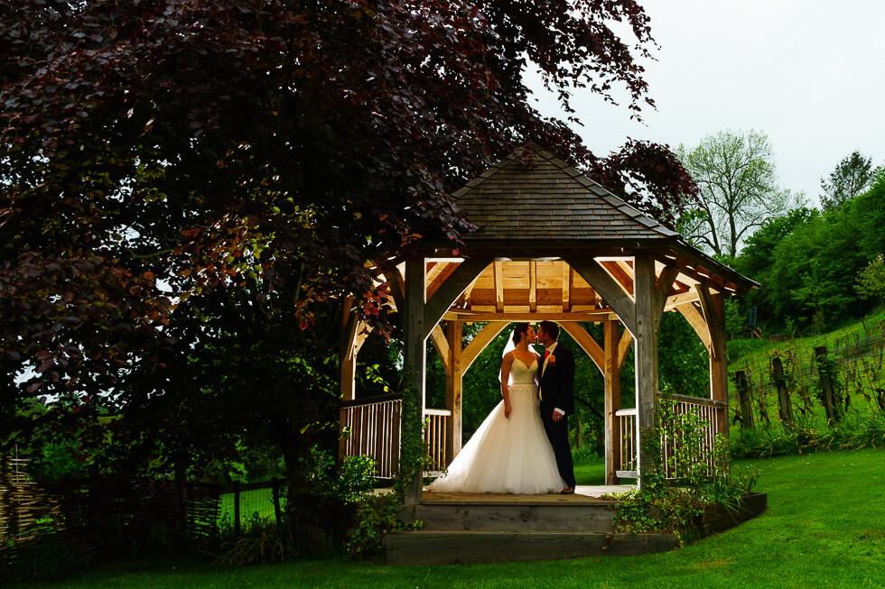 Dan and Kate got married at Longhouse Bruton