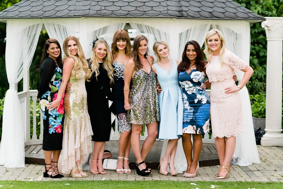 trunkwell house hotel wedding guests portraits