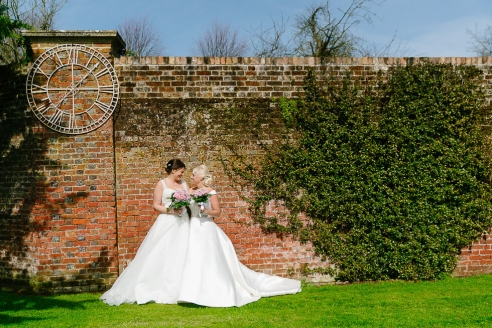 Wonderful wedding at the orangery suite in wimborne with brides Kate and Stacey