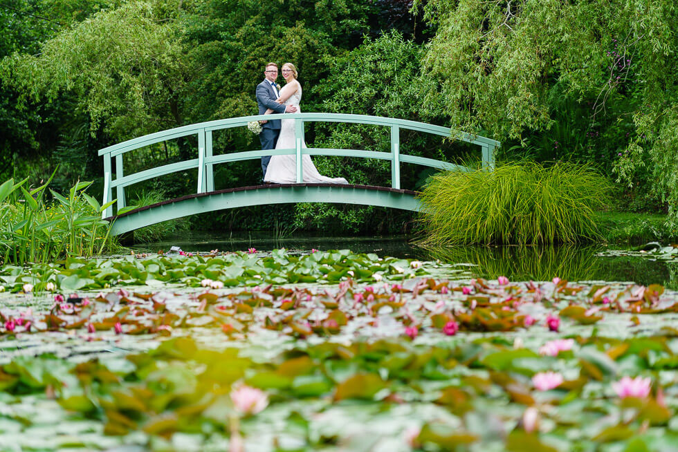 keely and dan at bennetts water gardens