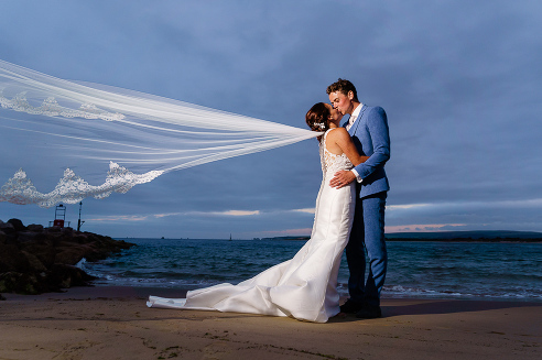 Poole Sandbanks wedding photography