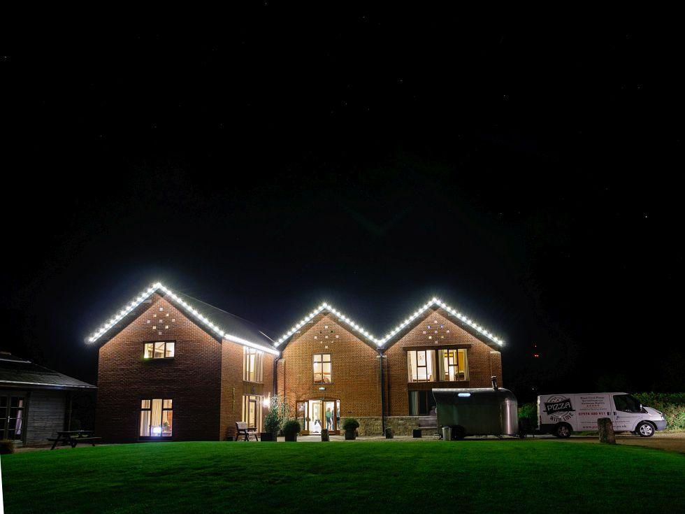 victorian barn wedding showcase - beautiful exteriors